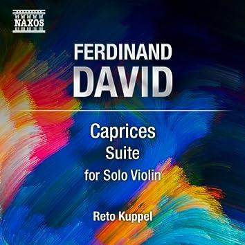 Ferdinand David: Violin Suite, Op. 43
