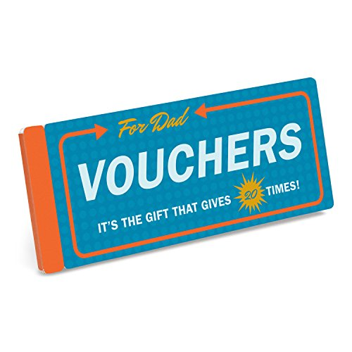 Knock Knock Vouchers for Dad