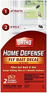 Ortho 071549049102 Home Defense Fly Decal for Windows 2ct-3 Pack = 6 Baits T