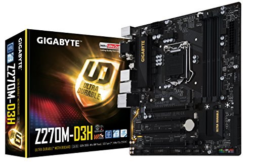 Placa Base Gigabyte Z270M-D3H