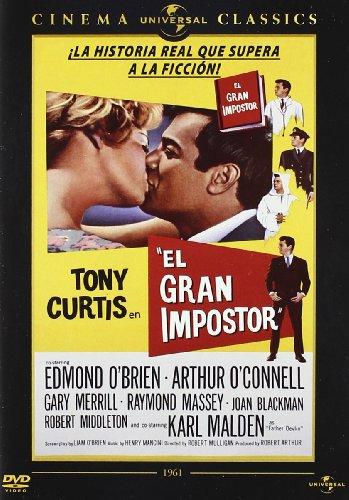 El Gran Impostor (Import Dvd) (2010) Tony Curtis; Arthur O'Connell; Gary Merri