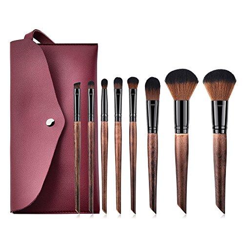 Dosige Pinceaux Professionnels Maquillage Cosmétique Brosse Set Outils 8 Pcs