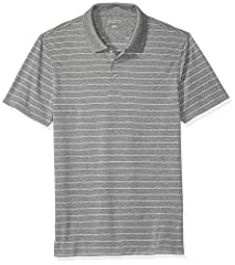 This slim-fit golf polo shirt is crafted from a quick-dry moisture-wicking knit and features three button placket and open-bottom hem Lightweight performance quick-dry fabric wicks moisture to help keep you dry and provides UPF sun protection ranging...