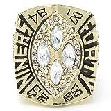Champion Ring Fan High-End Collection Ring Fans Anillo de Decoración de Regalo, MN, 12