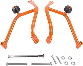 Easy-topbuy Protector de Motor Iron Defence con Marco antioxidante Resistente a la Rotura del