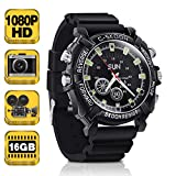 1080P HD Spy Watch Camera - Pinhole Video Recorder Support Photo Taking, Voice