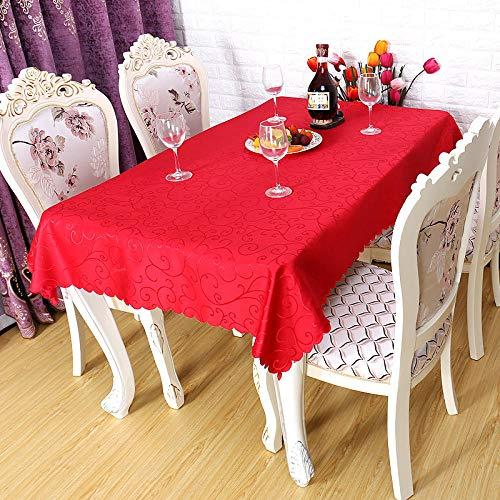 Branfan Geschikt voor binnen of buiten partij verjaardag bruiloft Kerstmis high-end restaurant thuis tafelkleed tafelkleed koffie jacquard tafelkleed A_1.4x1.4m