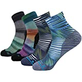 HUSO Wild Funky Socks Men's Women's Custom Elite Crazy Stripe Printed...
