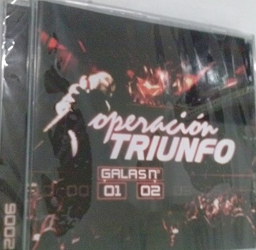 CD OPERACION TRIUNFO GALA 01/02/AÑO 2006