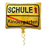 Oblique Unique® Nursery / School Place Sign Foil Balloon Hanging Decoration for School First Day School School School Balloon