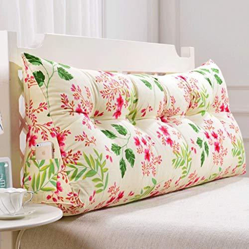LIPENLI Volver doble Sofá Cabecera Soft Pack de tatami amortiguador cama almohada lumbar de la almohadilla de la cintura (color: R, Tamaño: 180 cm)
