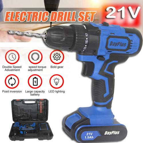 Best Price Electric Ddrills Cordless with Muti Function Hammer & Magnet, Package One Li-Ion Battery ...