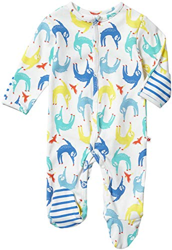 Piccalilly Sloth Footed Playsuit 0-3 month