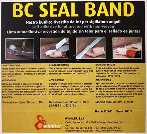 BC SEAL BAND Banda autoadesiva a freddo ml.10