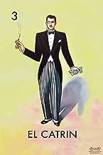 04 El Catrin Dandy Loteria Card Mexican Bingo Lottery Cool Wall Decor Art Print Poster 12x18