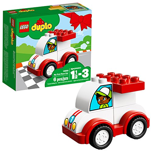 LEGO DUPLO My First Race Car 10860 Building Blocks (6 Piece)