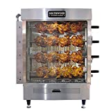 Southwood RG4 20-Chicken NG (LP Avail) Gas Heavy-Duty Rotisserie Machine