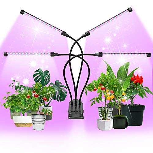 Led Grow Light, MEIKEE 120 LEDs Touch Control Grow Lights for Indoor Plants...