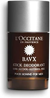 L'Occitane Aluminum Salts Free & Alcohol-Free Eau des Baux Deodorant for Men, 2.6 Oz