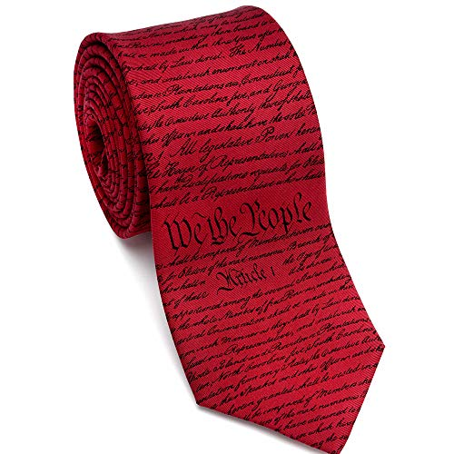 'Constitution Of The United States' Necktie
