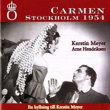Bizet: Carmen (Stockholm, 1954)