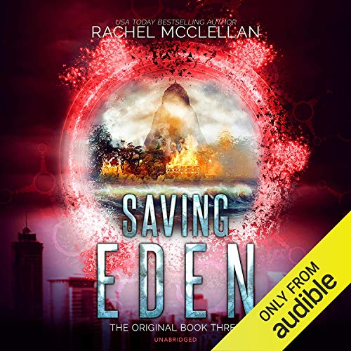 Diseño de la portada del título Saving Eden