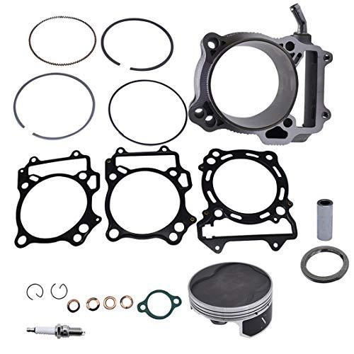 WFLNHB Cylinder Piston Gasket Top End Kits fit for Suzuki LTZ 400 2000-2015 434cc Big Bore