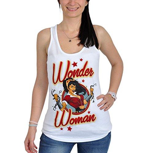 La Mujer Maravilla camiseta tirantes señora pin-up