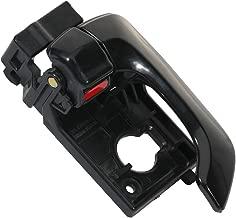 SCITOO Door Handle Interior Front Left Side Replacement fit for 2006-2010 Kia Optima 2003-2008 Hyundai Tiburon Black