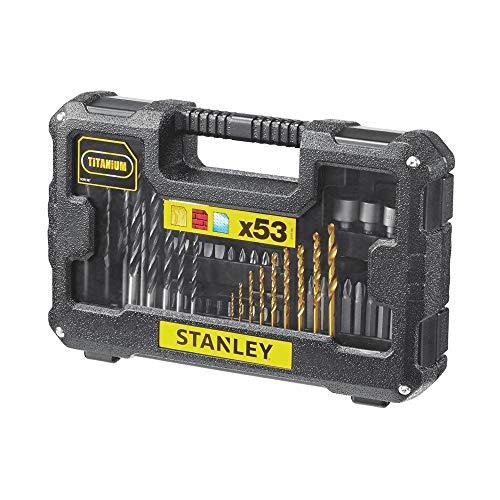 Stanley FatMax STA7223-XJ Juego de 53 piezas para taladrar y atornillar, Negro