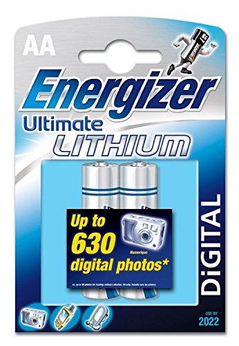 Energizer 3Stück je 2Batterien Ultimate Lithium L91AA Mignon LR6