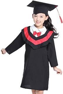 رداء أطفال Amosfun للتخرج وقبعة روضة الأطفال وثوب أطفال وقبعة تخرج ولوازم التصوير الفوتوغرافي