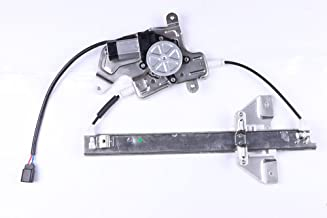 Power Window Regulators Rear Right Passengers Side with Motor Assembly Replacement Parts for 1999-2005 Pontiac Grand Am 4 Door 1999-2004 Oldsmobile Alero 4 Door