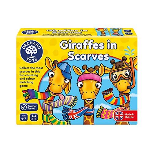 Orchard giocattoli giraffe in sciarpe gioco