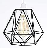 Abat-jour style rétro vintage, cage de fil, pour plafonnier existant ou chandelier, lampe sur pied ou lampe de table