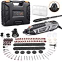 TACKLIFE Rotary Tool 1.8 Amp Power w/ MultiPro Keyless & 170 Accessories