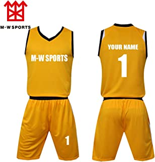 181467809 Custom Basketball Jerseys Set with Pocket Screen Print Your Name Number  Basketball Sport t-Shirt