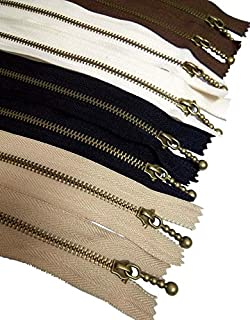 Best metal zippers for purses Reviews