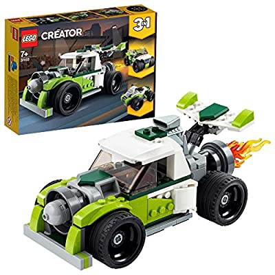 LEGO Creator 3in1 Rocket Truck 31103 Building Kit, Cool Buildable Toy for Kids, New 2020 (198 Pieces) by LEGO