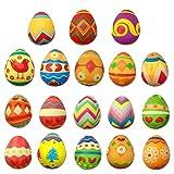 MARIJEE 18 juguetes de descompresión lenta, juego de huevos de Pascua, juguetes de descompresión, suministros de clase, regalo para niños y adultos
