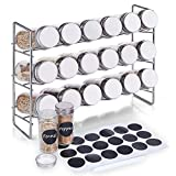 Best Spice Racks - defway Free Standing Spice Rack - 3 Tier Review