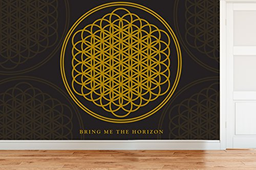 Officially Licensed Bring Me The Horizon (BMTH) Sempiternal - Wall Mural Wallpaper 4m (W) x 2.5m (H)