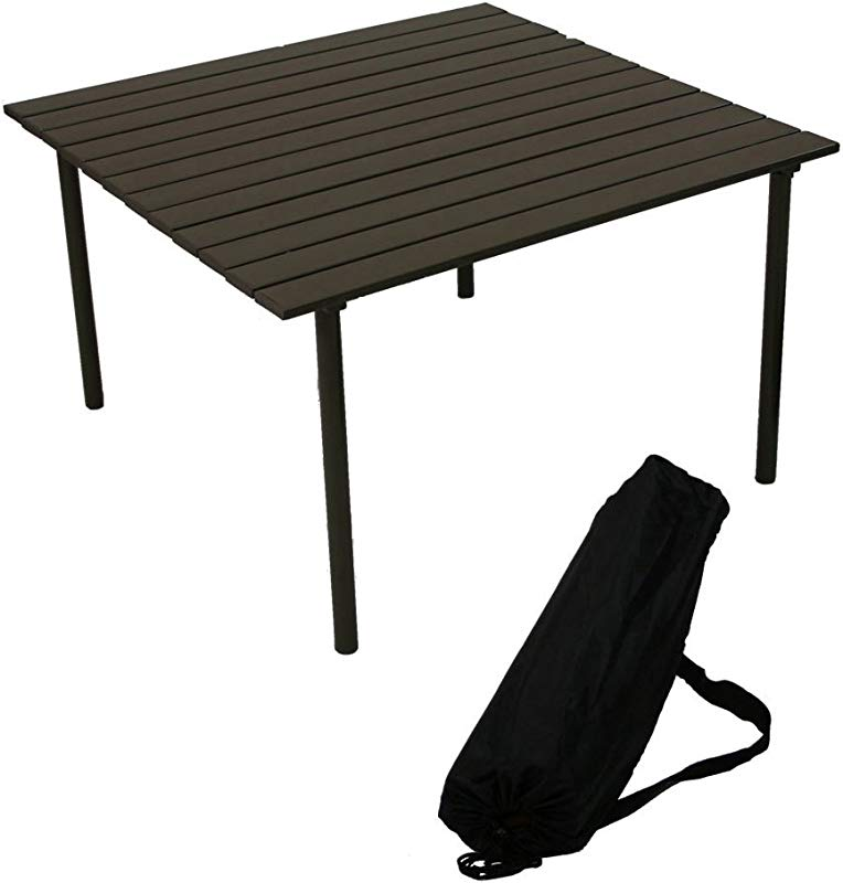 ASPEN M2716 My First Central Park Low Aluminum Portable Table In A Bag Brown