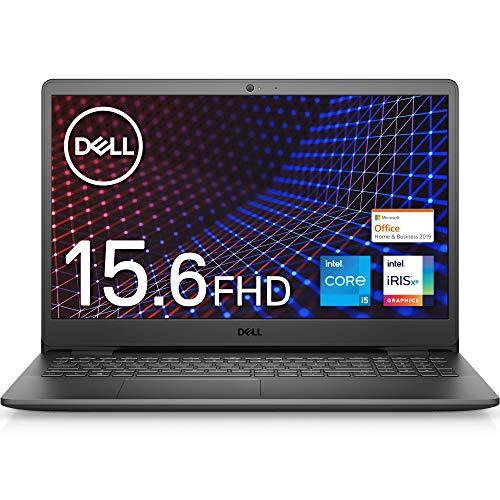 【Microsoft Office Home&Business 2019搭載】Dell ノートパソコン Inspiron 15 3501 ブラック Win10/15.6FHD/Core i5-1135G7/8GB/256GB/Webカメラ/無線LAN NI355A-AWHBB
