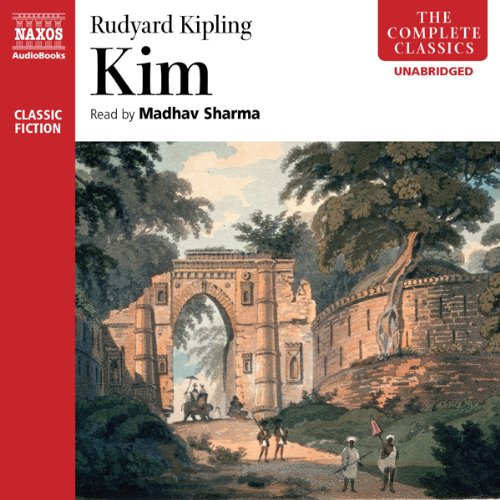 Kim Audiobook By Rudyard Kipling cover art