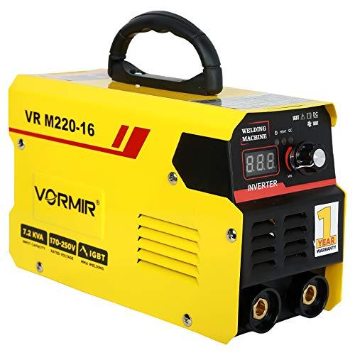 VORMIR Inverter ARC Welding Machine (IGBT) 220A with Hot Start, Anti-Stick Functions- 1 Year Warranty