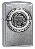 Zippo Harley-Davidson Engine Surprise Emblem Street Chrome Pocket Lighter