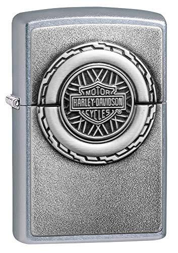 Zippo Harley-Davidson Engine Surprise Emblem Street Chrome Pocket Lighter