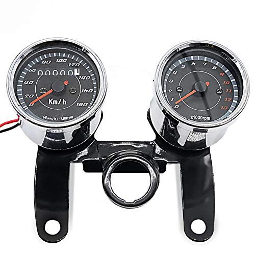 Motorrad Tachometer für Yamaha SR 500/400 / 250/125 VTV Chrom