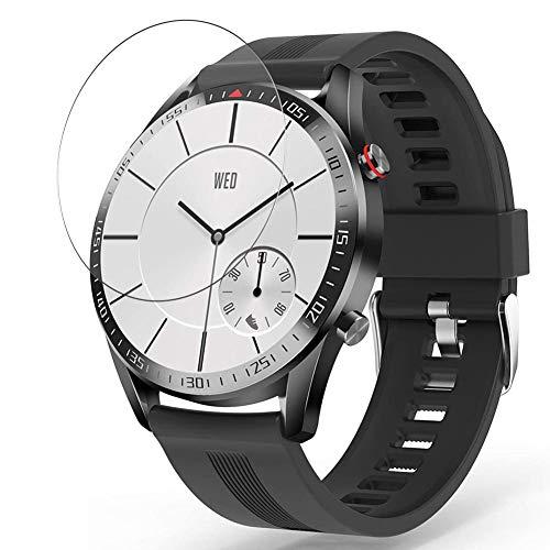 Vaxson 3-Pack TPU Pellicola Protettiva, compatibile con YoYoFit HY16 1.4' Smart Watch, Screen Protector Film [Non Vetro Temperato Cover Case ]